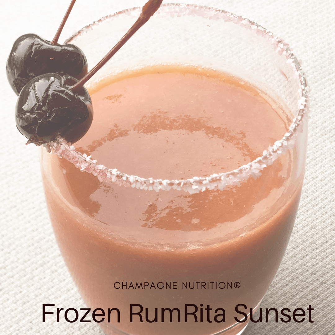 Frozen RumRita Sunset