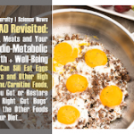 TMAO: Eggs, Meats and Your Cardio-Metabolic Health | You Can Sill Eat Eggs & Meat, If You Got 'the Right Gut Bugs'