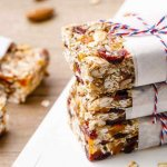 Almond Butter Paleo Granola Bars
