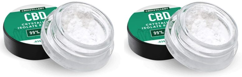 Crystallized CBD Extract