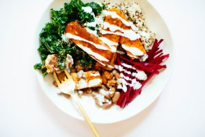 Buffalo Tempeh Bowl | Nutrition Stripped