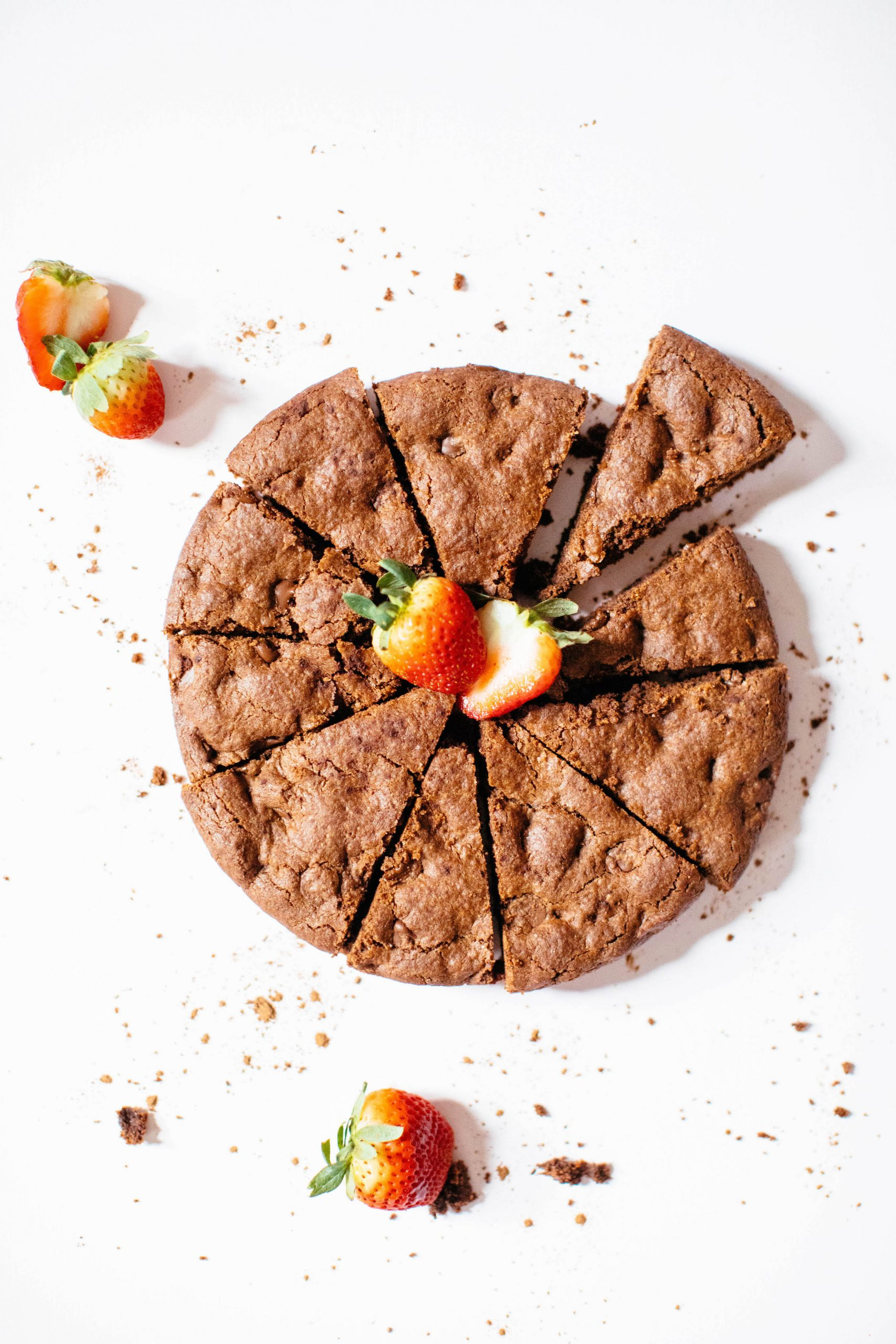 Double-Dutch Chocolate Skillet Cookie