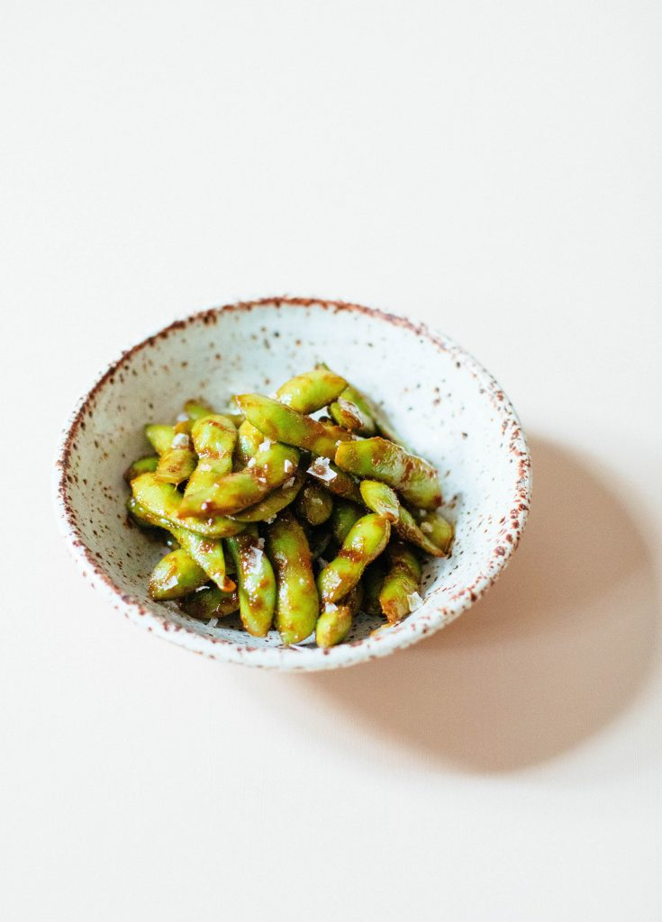 Sweet and Spicy Miso Edamame | Nutrition Stripped