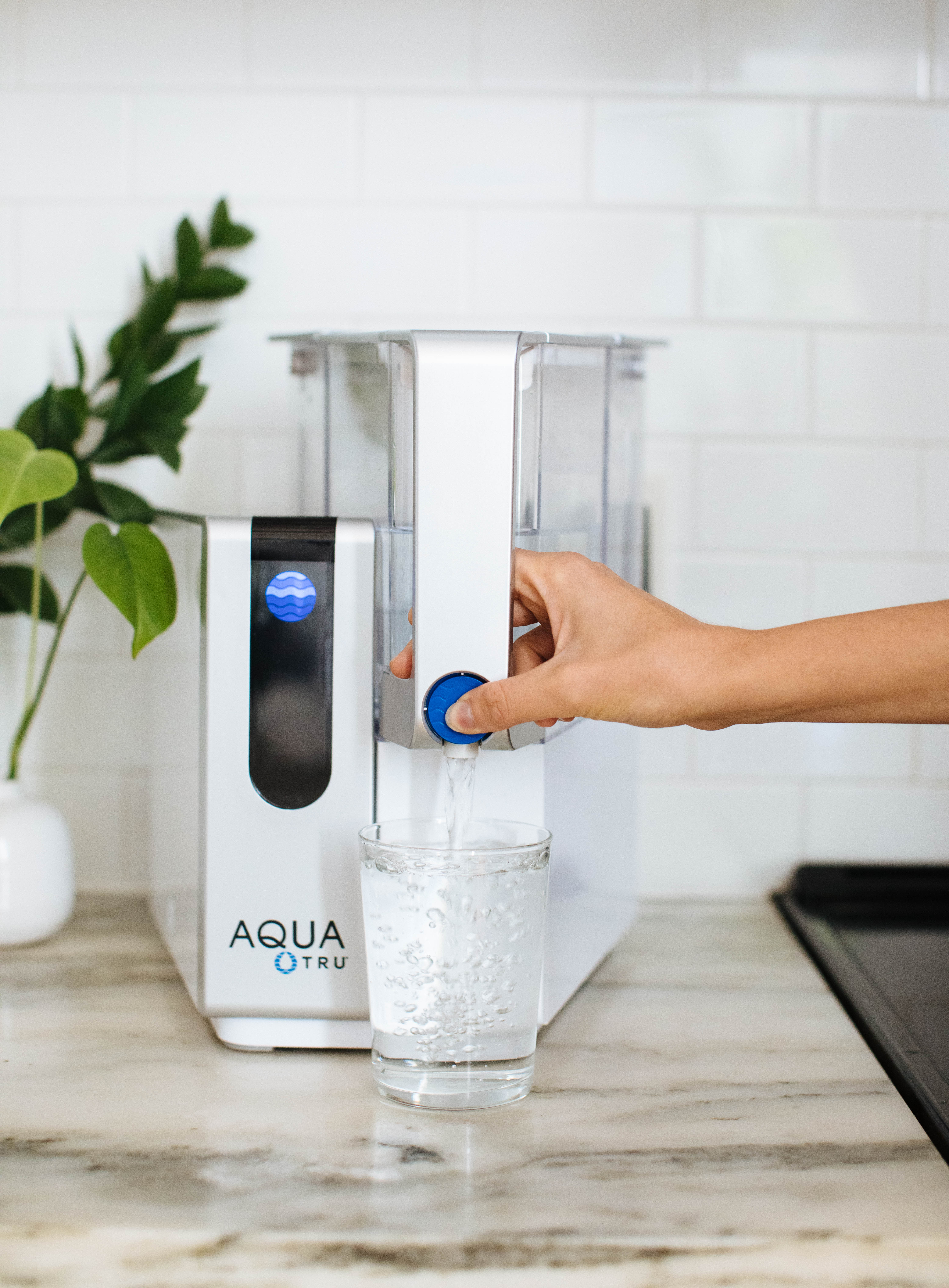 Nutrition Stripped shares how to create a non-toxic home and one recommendation is getting an AquaTru Water Filter.