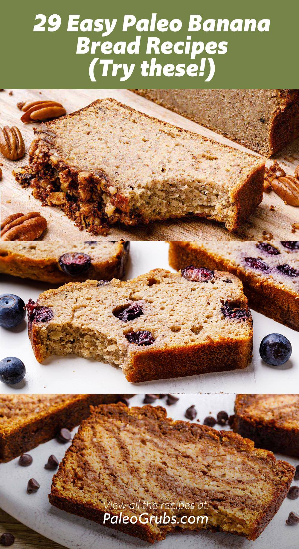 29 Easy Paleo Banana Bread Recipes (Try these!)