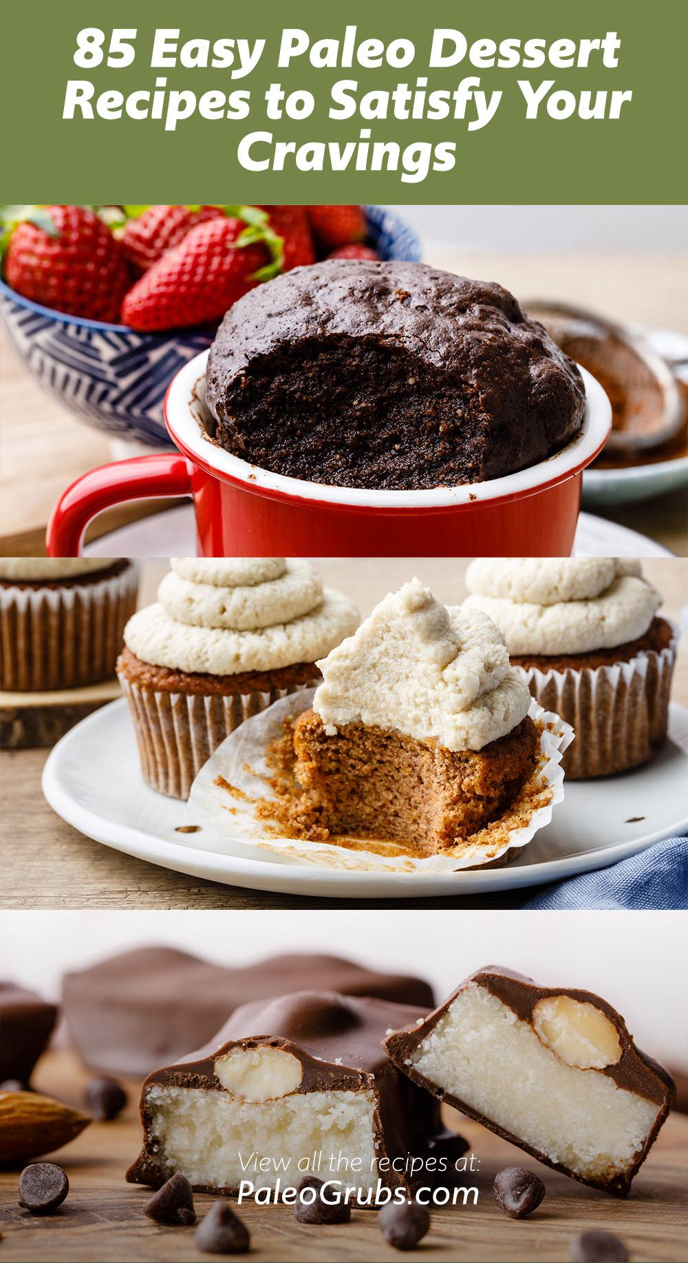 85 Easy Paleo Dessert Recipes to Satisfy Your Cravings